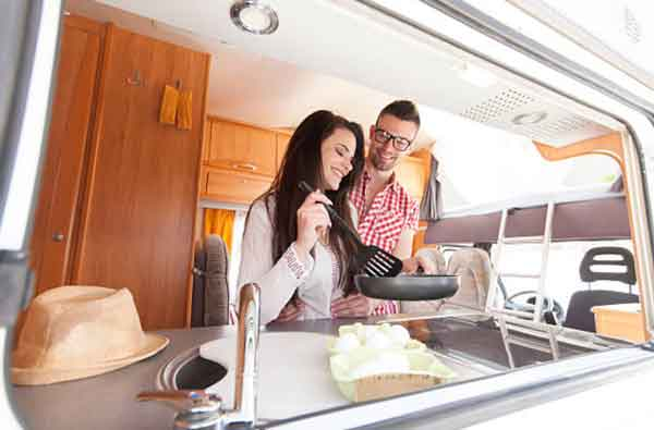 Cook all the meals you want in an RV
